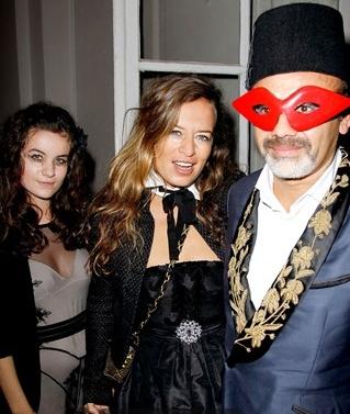 ParisVogueEditorCarineRoitfeld+JeanPaulGaultier