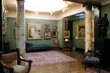 Leighton House, Silk Room