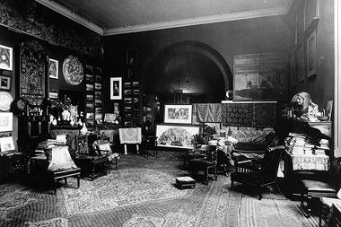 Leighton House, Leighton's Studio in the 1880s