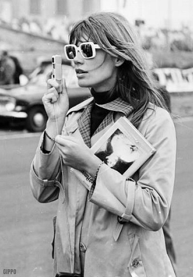 Early 60s french pop singer Francoise Hardy