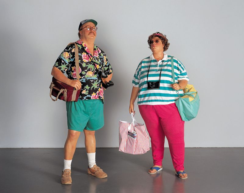 Duane-hanson-tourists-ii-1988